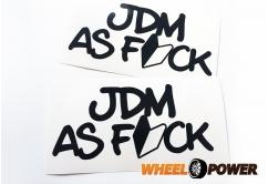 JDM AS FUCK - 15 cm