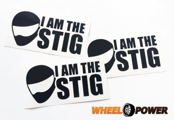 I AM THE STIG - 10 cm