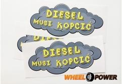 Diesel musi kopcić