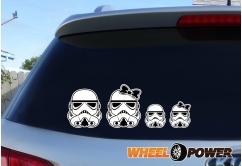 Stormtrooper family - 21 cm