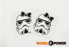Stormtrooper kobieta - 8 cm