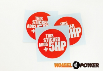 THIS STICKER ADDS +5HP - 8 cm