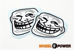 Troll face - 10 cm