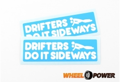 Drifters do it sideways - 10 cm