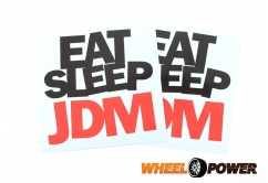 Eat Sleep JDM - 10 cm