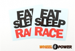 Eat Sleep Race - 10 cm