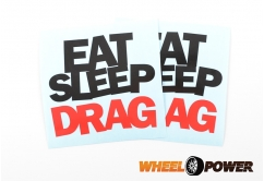 Eat Sleep Drag - 10 cm