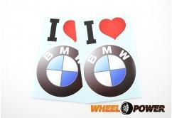 I love BMW - 15 cm