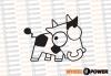 JDM Cow 10 cm