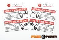 GPS ALARM SYSTEM 2 szt.