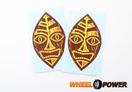 Maska Tiki - 10 cm